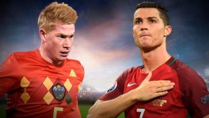 Belçika - Portekiz hazırlık maçı ne zaman, hangi kanalda, saat kaçta?