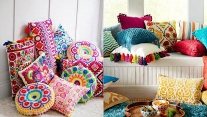Dekoratif yastık nasıl yapılır?