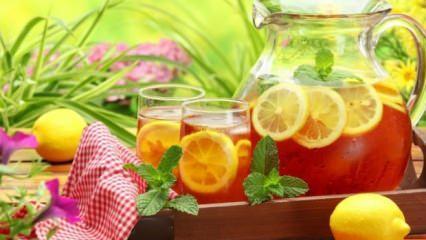 Evde soğuk çay nasıl yapılır?