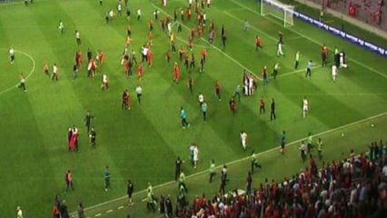 İsviçre'de milli maç olaylı bitti!