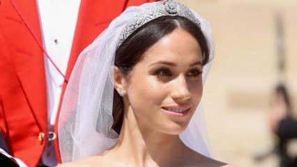 Meghan Markle'ın düğün saçı ve makyajı