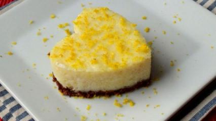 Limonlu süt tatlısı nasıl yapılır?