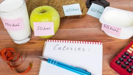 Günlük kalori ihtiyacı nasıl hesaplanır?