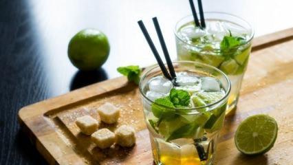Yağ yakan ve serinleten içecek tarifi