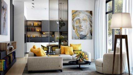 5 adımda oturma odası dekorasyonu