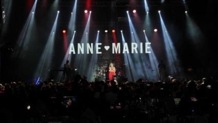 Anne Marie Antalya'yı salladı!