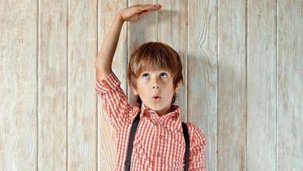 Çocukların ideal boy ve kilo ölçüsü kaç olmalı?
