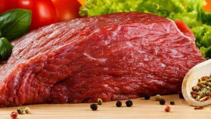 Kırmızı etin faydaları ve zararları neler?