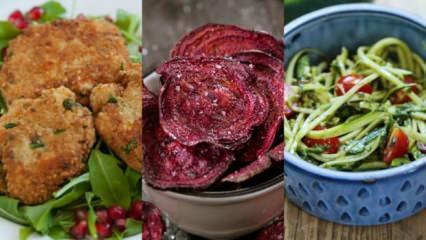Sebzelerle yapılan lezzetli yemekler
