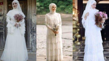 2018 yılının trend nikah elbiseleri