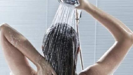 Duş alırken yapılan hatalar nelerdir?