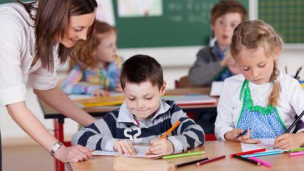 Okul çocukları için aşı takvimi