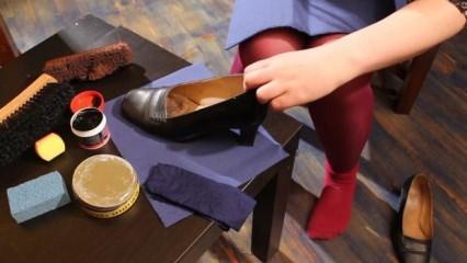 Evde ayakkabı cilası nasıl yapılır?
