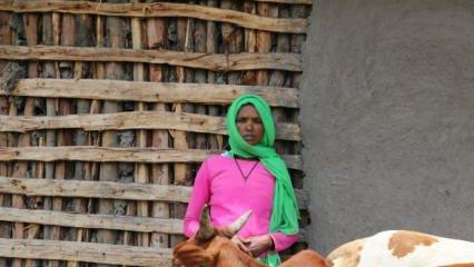 Türkiye destek verdi! Etiyopyalı anne iş sahibi oldu