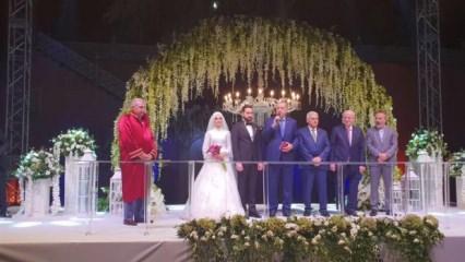 Başkan Erdoğan İstanbul milletvekili Uçma'nın kızının nikah şahitliğini yaptı