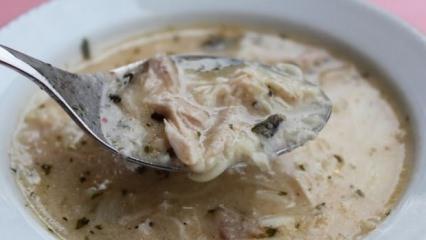Şehriyeli yoğurt çorbası tarifi