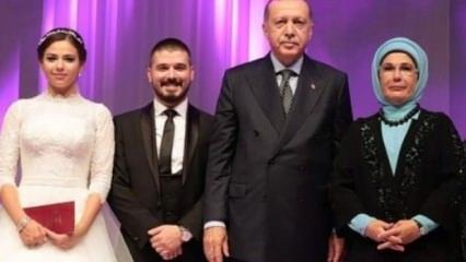 Başkan Erdoğan ve eşi Emine Erdoğan nikah şahitliği yaptı!