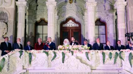 Siyasetçi Mehmet Daniş'in oğlu evlendi!