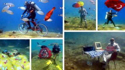Su altında çekilen en ilginç fotoğraflar