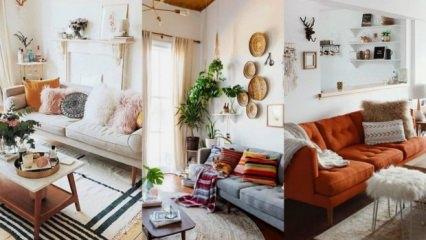 Ev dekorasyonunda en değişik öneriler