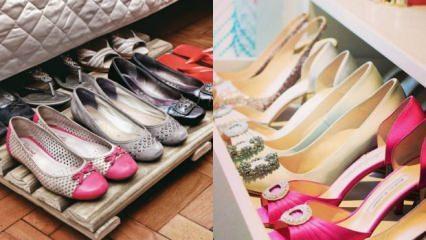 Ayakkabı saklamanın püf noktaları nelerdir?