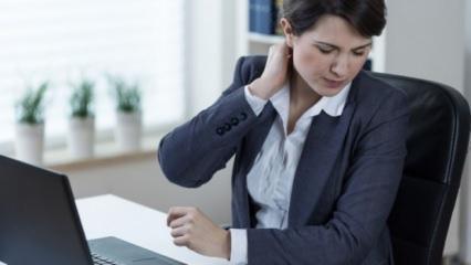 Boyun ağrısına iyi gelen doğal yöntemler
