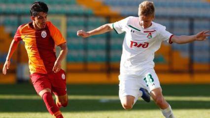 G.Saray Gençlik Ligi'nde Lokomotiv'e kaybetti