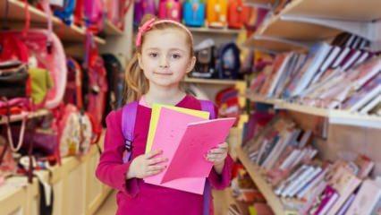 Marketlerdeki okul indirim ürünleri