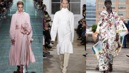 New York moda haftasında sokak modası öne çıktı