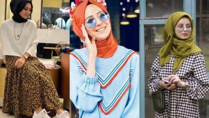 Sonbahar kıyafetlerinde trend olan desenler