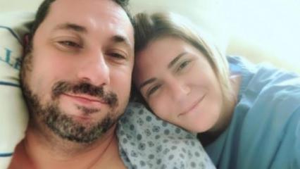 Ünlü sunucu Özge Uzun'un eşi ölümden döndü
