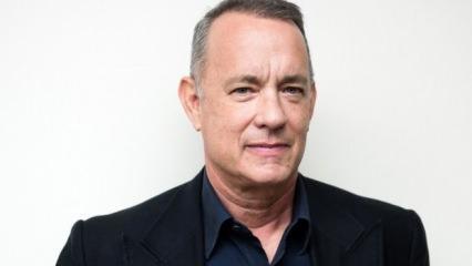 Tom Hanks'in yeni filmi için ilk set fotoğrafını yayınladı