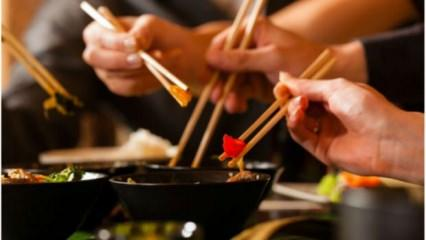 Chopstick – Çubuk nasıl kullanılır?