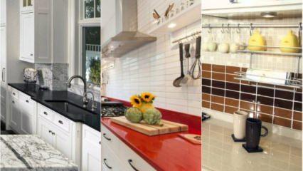 2018-2019 Mutfak tezgahı modelleri