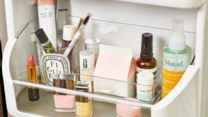 Buzdolabında saklanması gereken kozmetik ürünleri