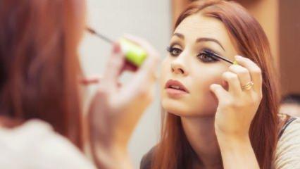 Güzelliğinize gölge düşüren hatalar