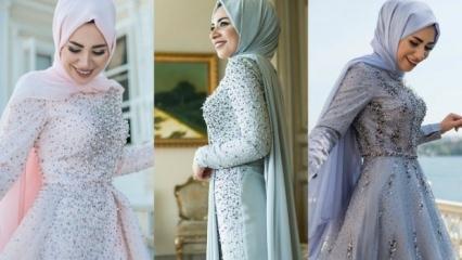 Sezonun söz ve nişan elbise modelleri
