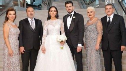 Cenk Öztanık ile Ecem Kazancı evlendi