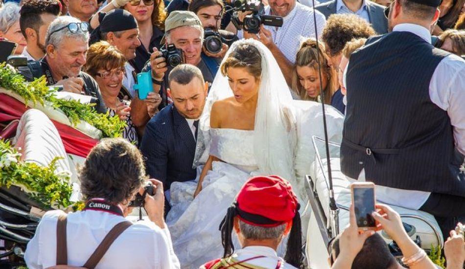 Maria Menounos, köy düğünü yaptı