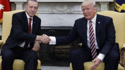 Trump'tan Brunson açıklaması: Teşekkürler Erdoğan