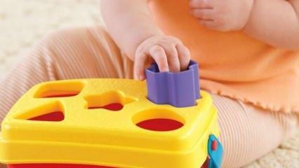 Okul öncesi dönemde (0-6 yaş) çocuklar için eğitici oyuncaklar