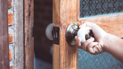 Kapı gıcırtı sesine ne yapılır?