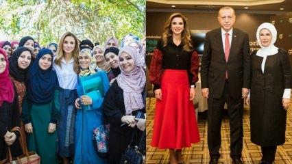 Ürdün Kraliçesi Rania Al Abdullah modası ve kombinleri