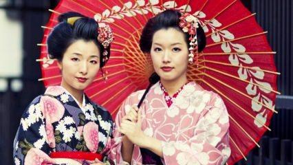 Japon kadının Türkiye koleksiyonu