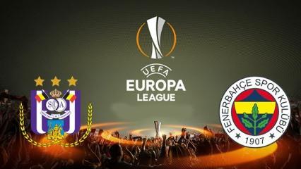 Anderlecht - Fenerbahçe maçı internetten bedava izleme!