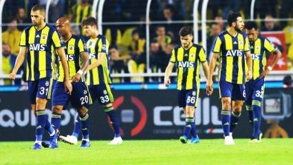Fenerbahçe dibi gördü!..