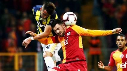 Galatasaray başladı Fenerbahçe bitirdi!
