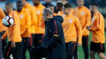 Galatasaray, derbi hazırlıklarını tamamladı