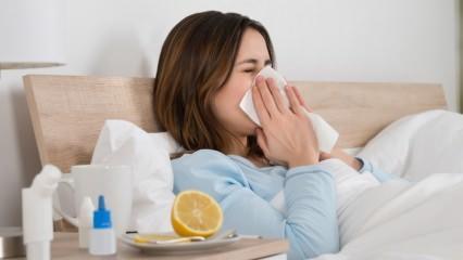 İki haftadan uzun süren soğuk algınlığındaki büyük tehlike!