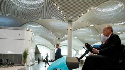 İstanbul havalimanında şaşırtan ayrıntı!